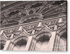 Details Of The National Cathedral Acrylic Print