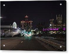 Acrylic Print featuring the photograph Detroit Michigan by Nicholas Grunas