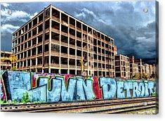 Detroit Packard Automotive Plant Acrylic Print