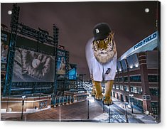 Detroit Tigers At  Comerica Park Acrylic Print