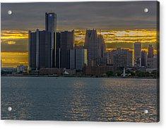 Detroit Versus Everybody  Acrylic Print