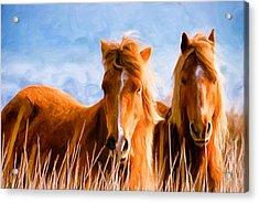 Deuces Wild Acrylic Print by Steven Richardson