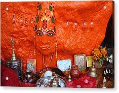 Devi Temple, Nanital Acrylic Print by Jennifer Mazzucco