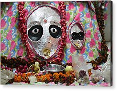 Devi Temple, Vrindavan Acrylic Print by Jennifer Mazzucco