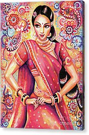 Acrylic Print featuring the painting Devika Dance by Eva Campbell