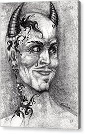 Devil May Cry Acrylic Print by Alban Dizdari