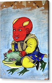 Devilboy Acrylic Print by Billy Knows