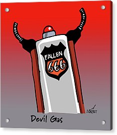 Devil Gas Acrylic Print