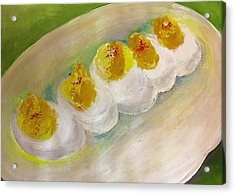 Devilled Eggs Acrylic Print