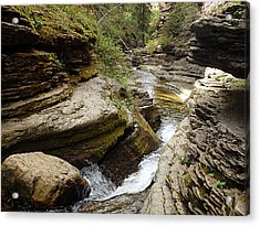 Devil's Bathtub Sd Acrylic Print