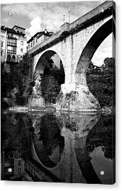 Devil's Bridge Acrylic Print by Donna Corless
