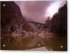 Devil's Bridge Acrylic Print by Evgeni Dinev