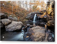 Acrylic Print featuring the photograph Devils Hopyard 1 by Brian Hale