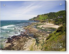 Devil's Punchbowl Acrylic Print by Andrew Serff