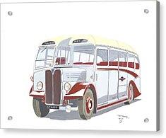 Devon General Aec Regal Acrylic Print by John Kinsley