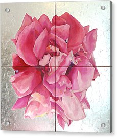 Acrylic Print featuring the painting Devoted Love by Eva Konya