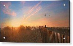 Dewey Sunrise 1 Acrylic Print by Lori Deiter