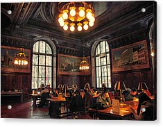 Acrylic Print featuring the photograph Dewitt Wallace Periodical Room by Jessica Jenney