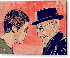 Dexter And Walter Acrylic Print