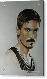 Dhanush Popular Indian Singer Acrylic Print