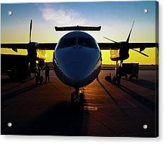 Dhc-8-300 Refueling Acrylic Print