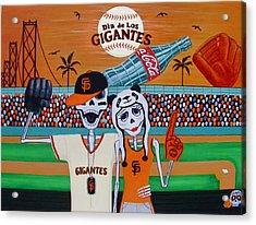 Dia De Los Gigantes Acrylic Print