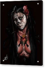 Dia De Los Muertos 3 Acrylic Print