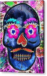 Dia De Los Muertos Acrylic Print by Dolly Sanchez