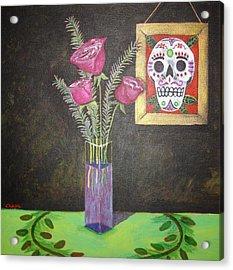 Dia De Los Muertos I Acrylic Print