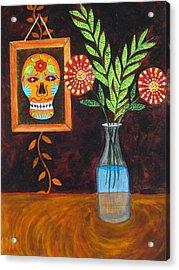 Dia De Los Muertos II Acrylic Print