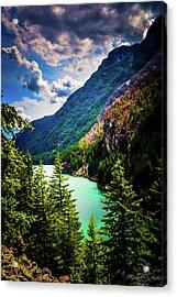 Diablo Lake Acrylic Print