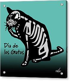 Dia De Los Gatos Acrylic Print