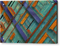Diagonal Acrylic Print