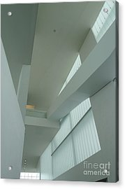 Diagonal Perspective Acrylic Print by Donna McLarty
