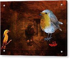 Dialogue De Sourds Acrylic Print