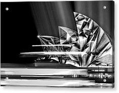 Diamond Designs Acrylic Print by Az Jackson