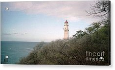 Diamond Head Light House Acrylic Print