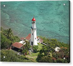 Diamond Head Lighthouse 2 Acrylic Print