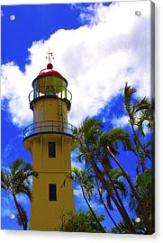 Diamond Head Lighthouse Acrylic Print