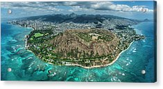 Diamond Head Overview Acrylic Print