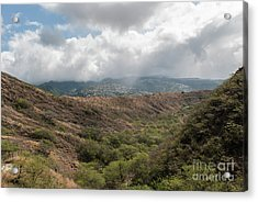 Diamond Head View Acrylic Print