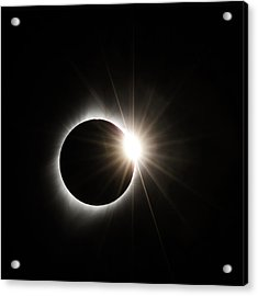 Diamond Ring Acrylic Print