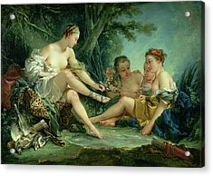 Diana After The Hunt Acrylic Print by Francois Boucher
