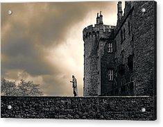 Diana The Huntress At Kilkenny Castle Acrylic Print
