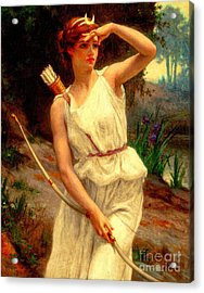 Diana The Huntress Guillaume Seignac  Acrylic Print