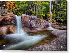 Diana's Baths 7913 Acrylic Print by Dan Beauvais