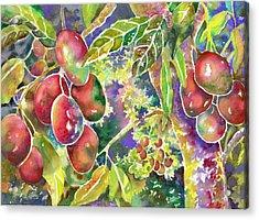 Diane's Mangos Acrylic Print