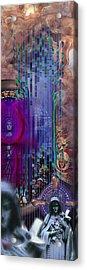 Dichotomy I Acrylic Print by Kenneth Armand Johnson