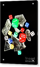 Dicing With Chance Acrylic Print by Jorgo Photography - Wall Art Gallery