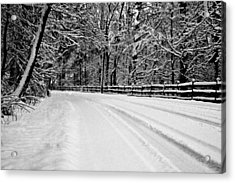 Dicksons Mill Road Acrylic Print
